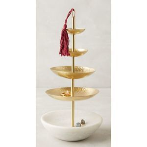 Anthropologie - Tasseled Jewelry Stand